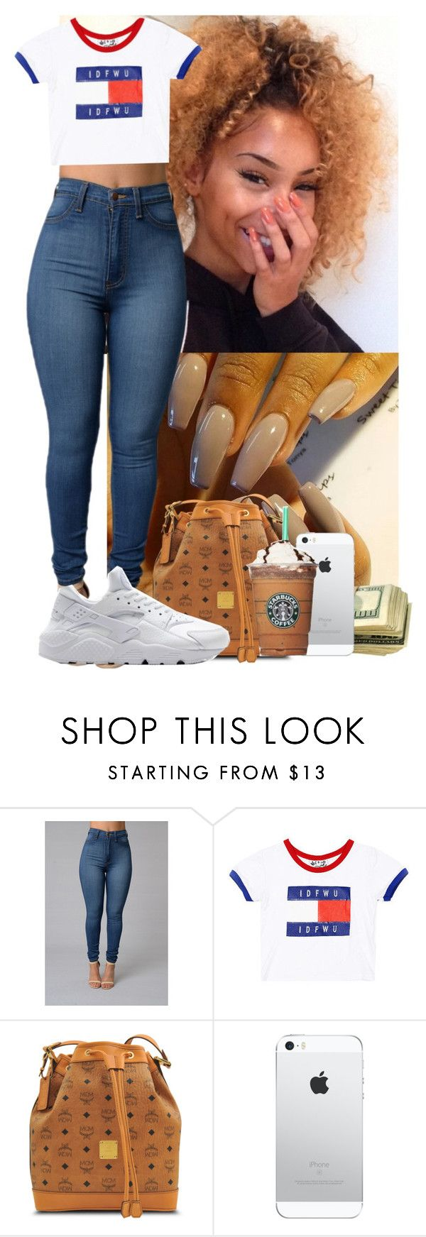 """❤️❤️❤️"" by msixo ❤ liked on Polyvore featuring MCM and NIKE"