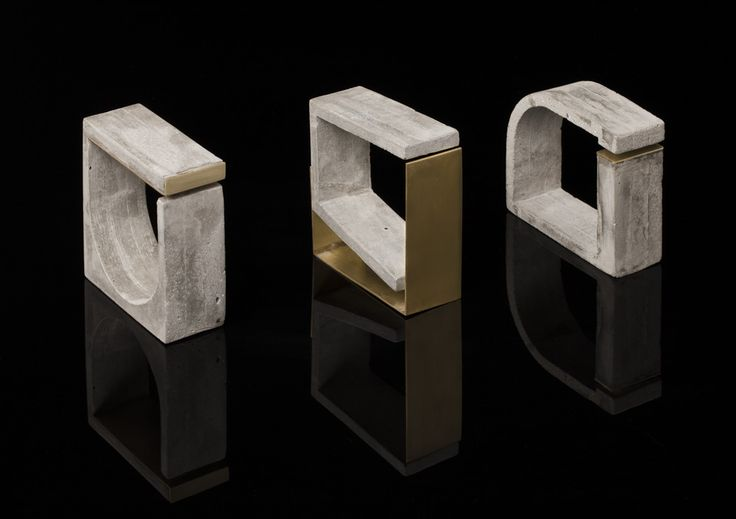 A jewelry collection that explores the dual nature of concrete - how it can be used for architectural masterpieces to wearable, everyday accessories.