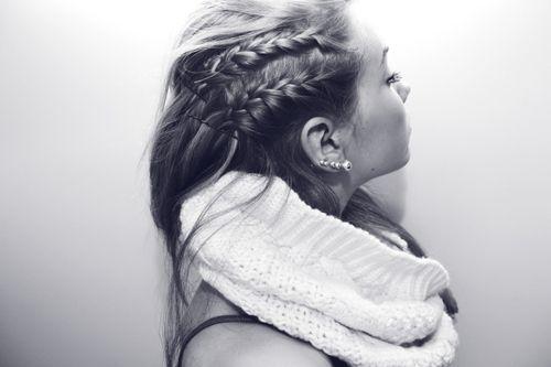 hair: French Braids, Hairstyles, Shorts Hair, Sidebraids, Beautiful, Double Braids, Hair Style, Side Braids, Braids Hair