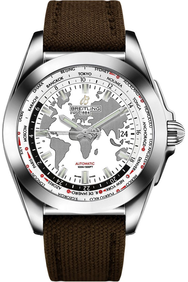 Breitling Galactic Unitime WB3510U0/A777-108W Sale - Watches for Men - Free Shipping and Authenticity Guaranteed at AuthenticWatches.com! #BreitlingForMen #menswatchesbreitling