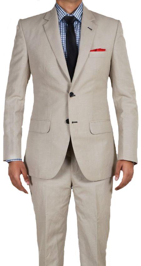 Beige Linen Suit for men online,Brown custom suits for men My #TSL Dream Recruitment Closet