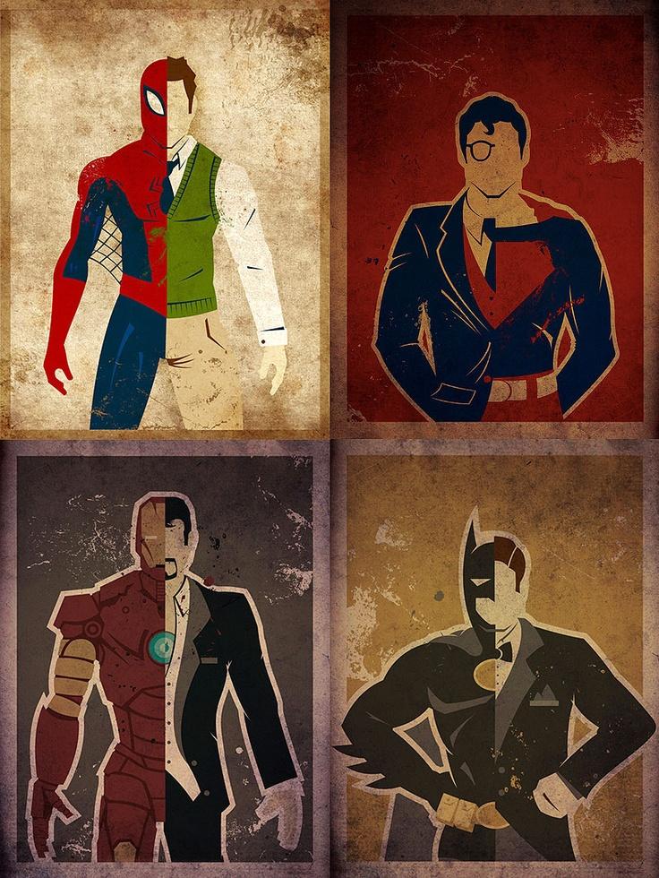 Alteregos dos Heróis