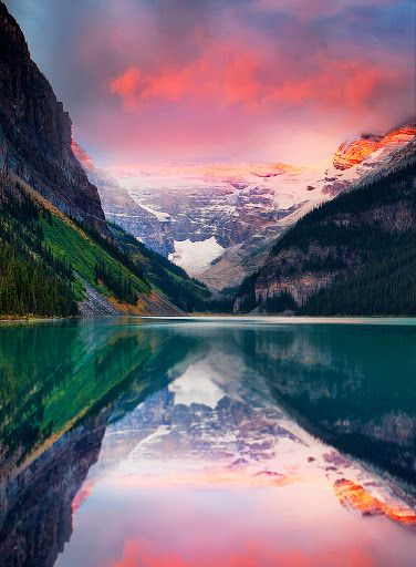 I could sit for hours just taking it all in. Lake Louise, Banff National Park, Canadian Rockies