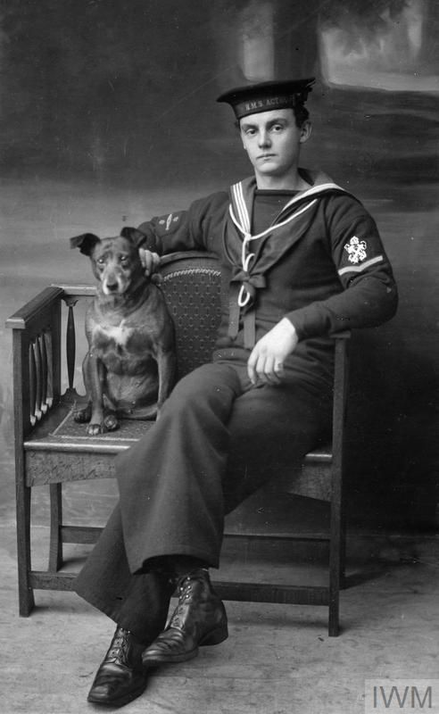 WWI, 26 Feb 1917, Indian Ocean Petty Officer First Class William Harris Saunders killed in action aboard HMS Gunboat Mantis, off Mesopotamia. ©IWM HU 126196