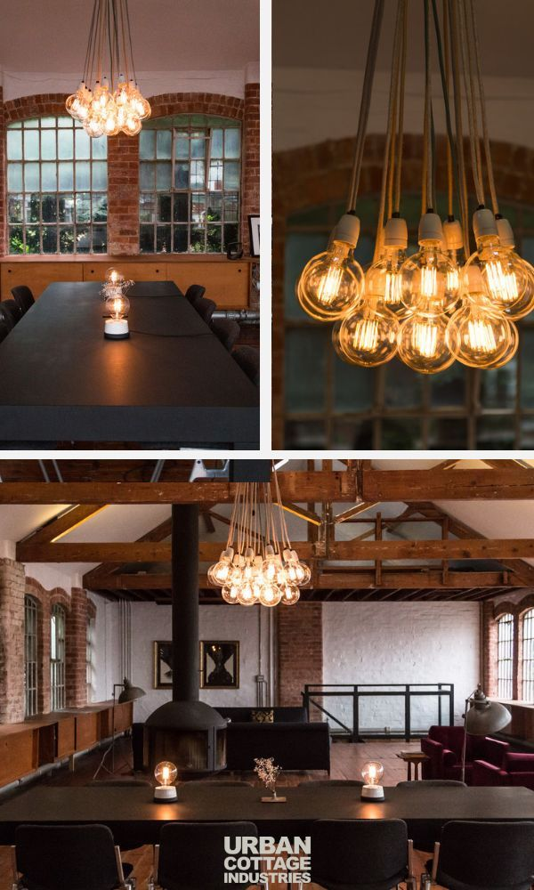 Make Your Own Lights That Suit Dining Room Or Kitchen Design All From The