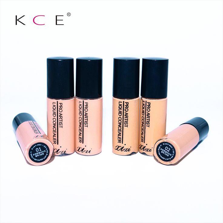 2 Colores Corrector Profesional Salon Botella Partido Del Maquillaje Contour Palette Cara Crema de base Líquida de Maquillaje