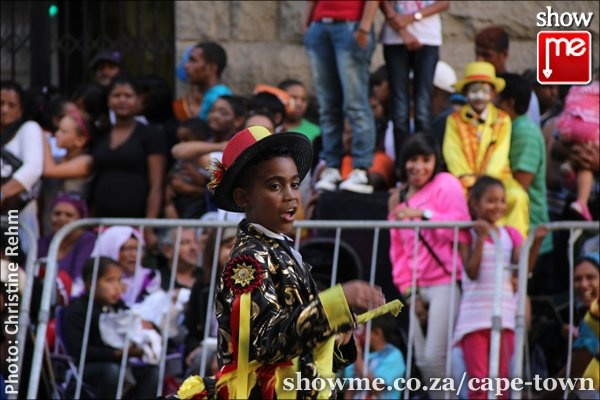 Cape Town Kaapse Klopse Minstrel Carnival on 02 Jan 2013