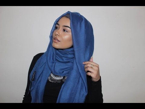 Loose Ombré Hijab Tutorial - YouTube