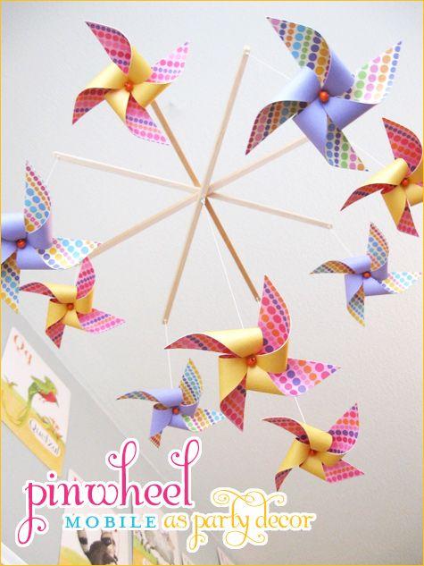Pinwheel Theme – Fun Party Decor Idea