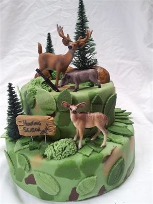 Hunting Cake...hubby and boys:)