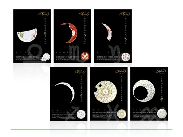 Herend Zodiac Calendar