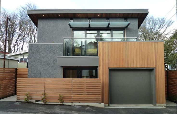 A 580 sq ft laneway house with sustainable design features ...