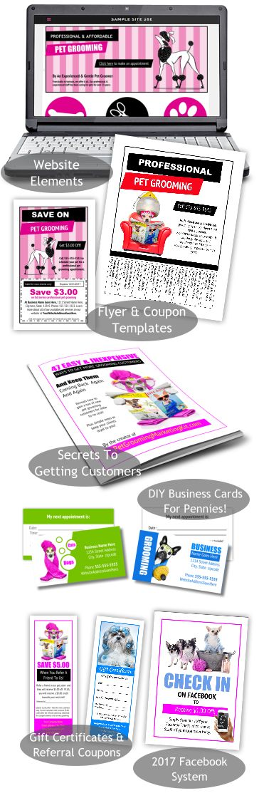 47 easy inexpensive ways to get more pet grooming clients plus all new groomer templates