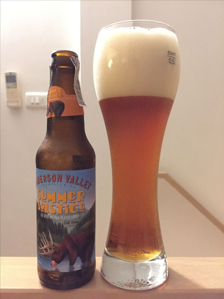 Beer of the week Anderson valley: summer solstice  This really for summer. But is this fit with this time???