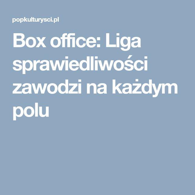 Box office: Liga sprawiedliwości zawodzi na każdym polu