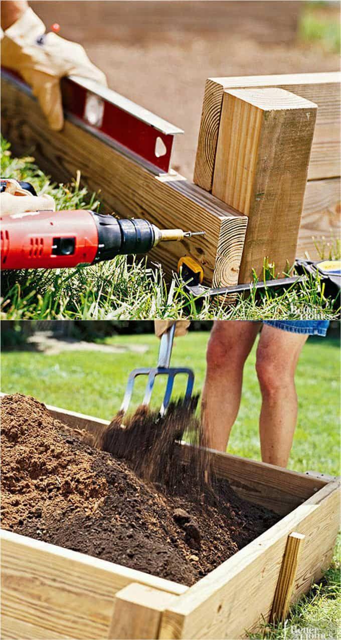 All about diy raised bed gardens u part veggie garden