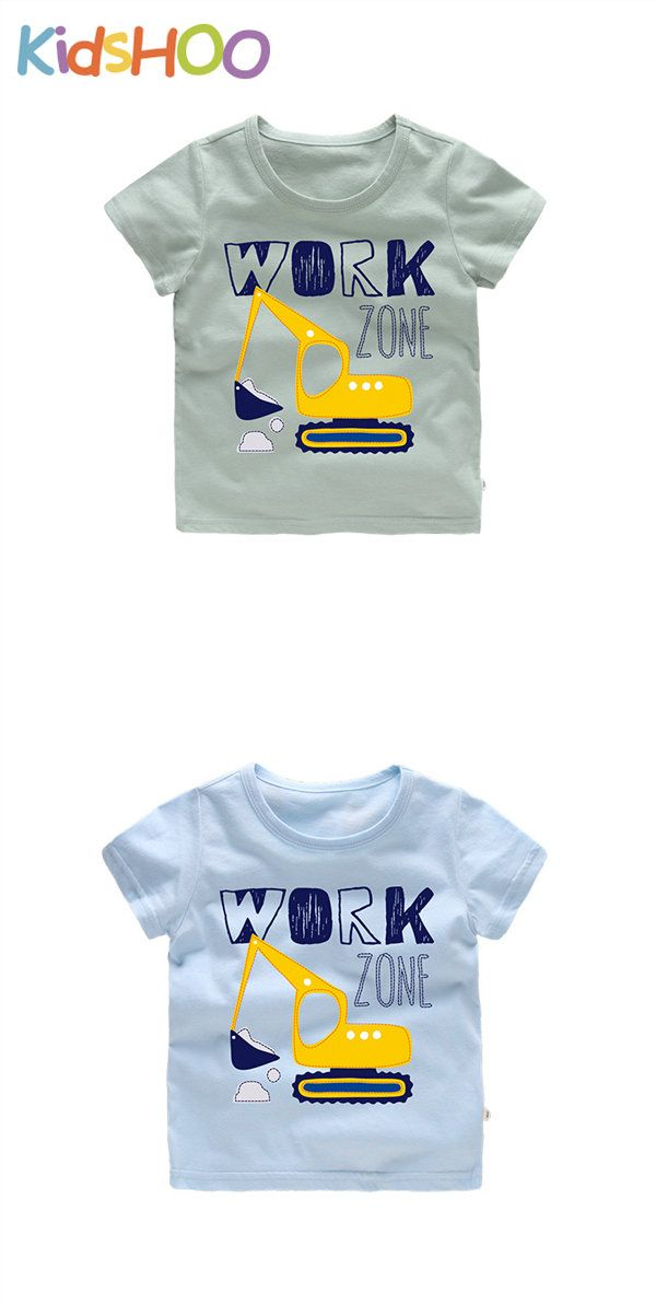 Happy Birthday Full Printed Short Sleeve Crew Neck Tees Youth T-Shirts Summer Tops for Boys