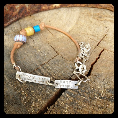 Becoming you bracelet.