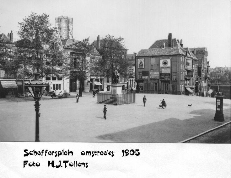 Oud Dordrecht - Scheffersplein