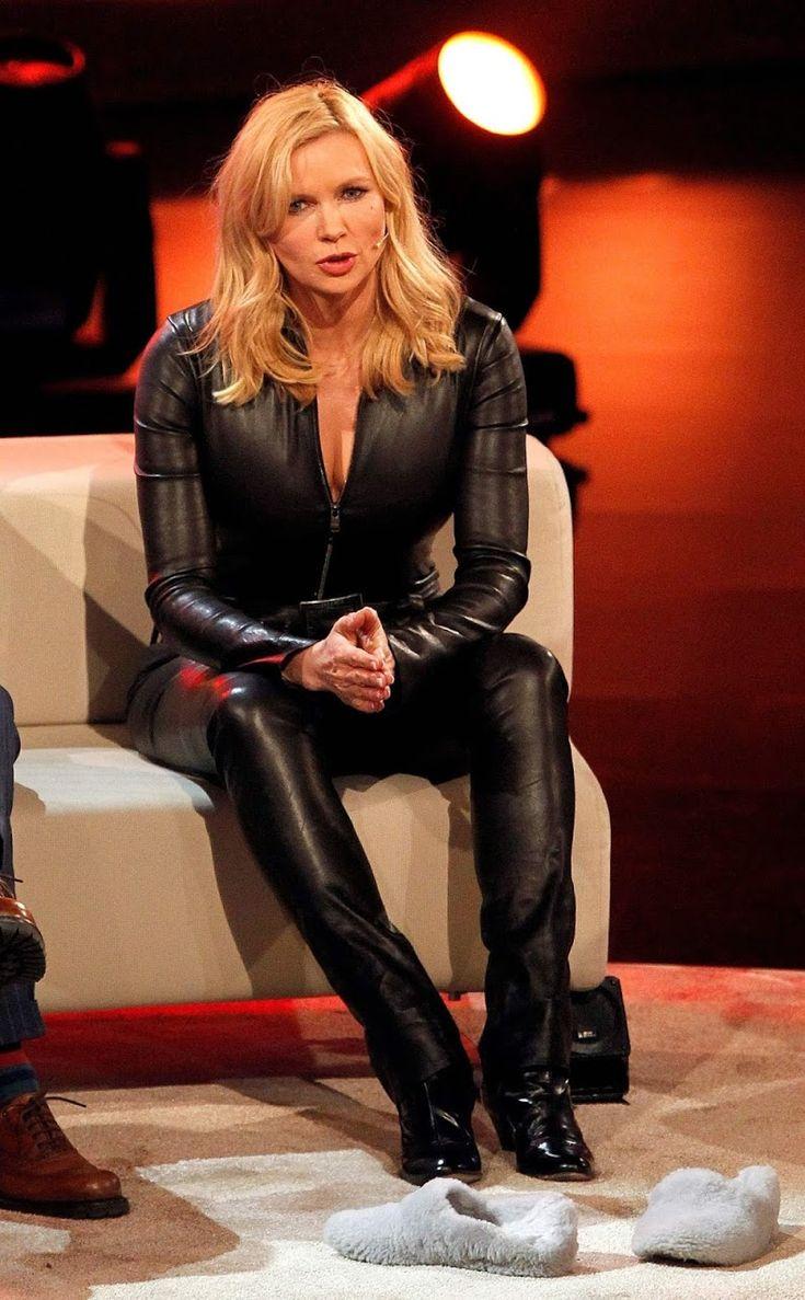 Veronica Ferres Leather 1