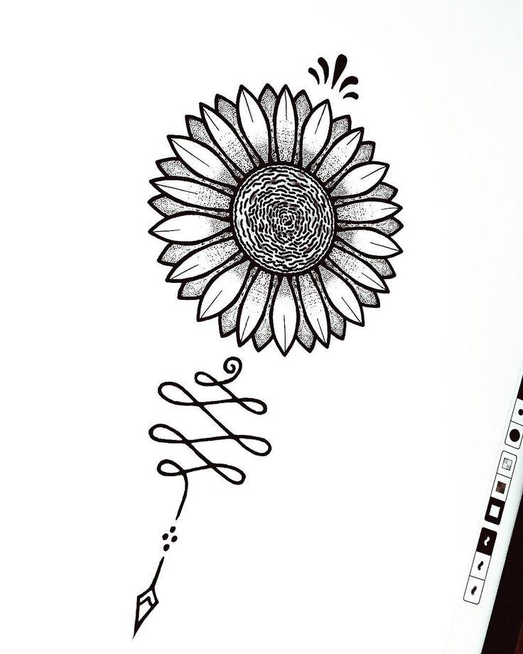 25  best sunflower tattoo sleeve ideas on pinterest
