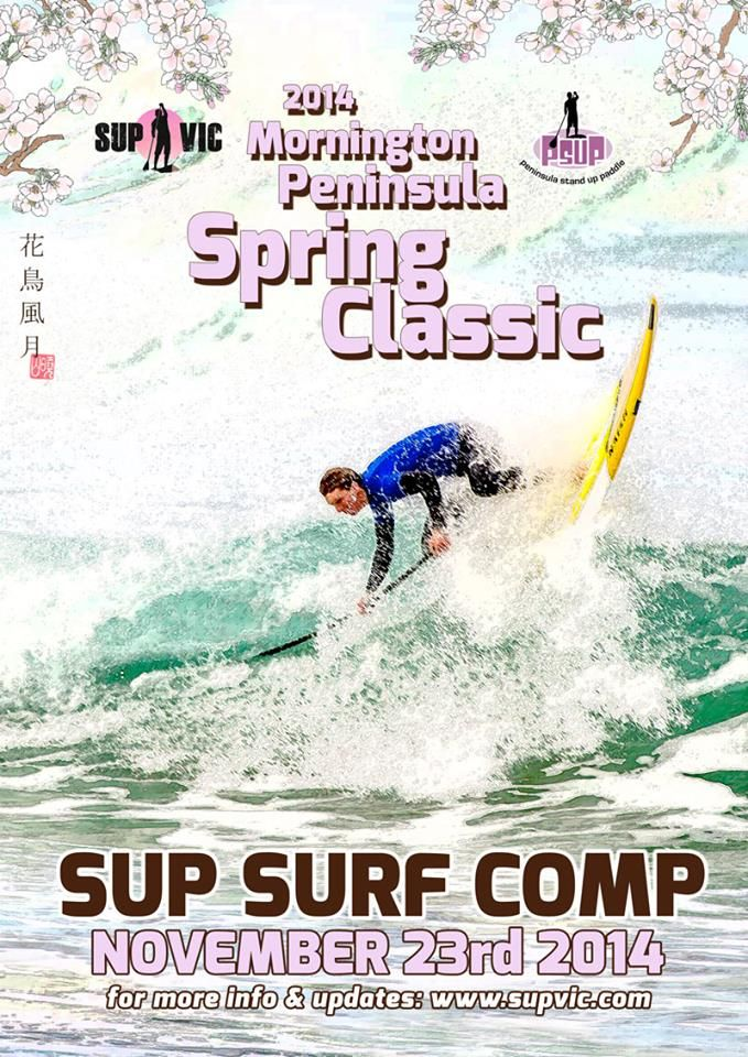 SUP VIC Mornington Penninsula SUP Surf Comp Spring Classic 11.23.2104