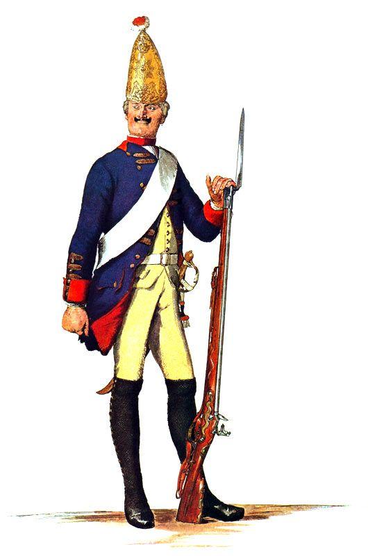 прусский мундир картинки часть заказов