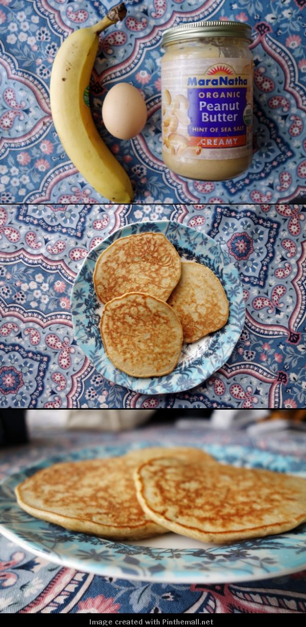3 Ingredient Pancakes--where was this the other day when my baking powder had expired! This would have worked for me :)