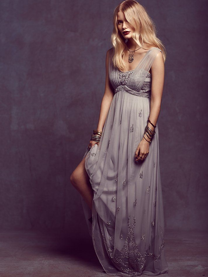 Free People | Twilight Dreams Dress -- Great for the alternative bride or her bridesmaids