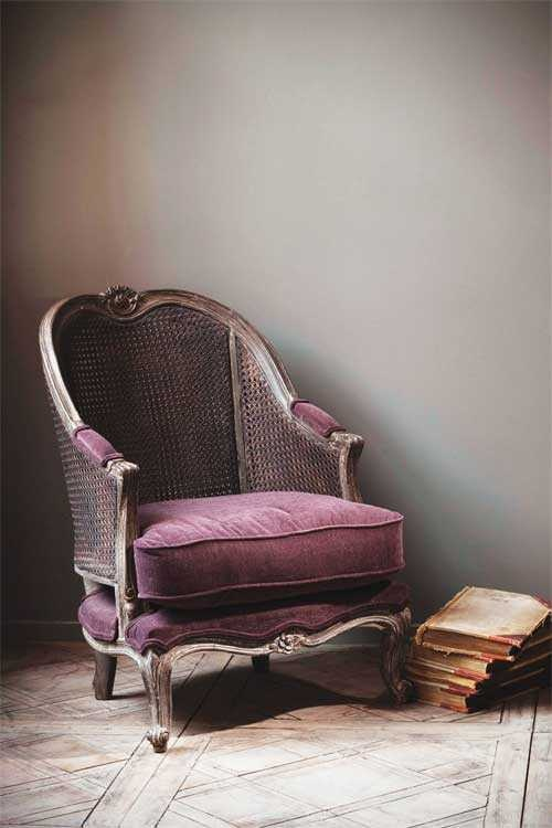 French Caned Armchair