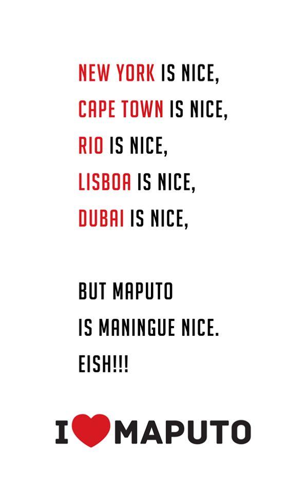 I love #Maputo  #Mozambique #Moçambique