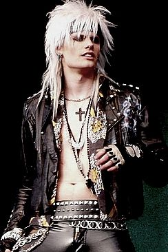 Simon Cruz  Such an amazing vocalist as well! Crashdiet! <3 (But Dave will always be my favorite)
