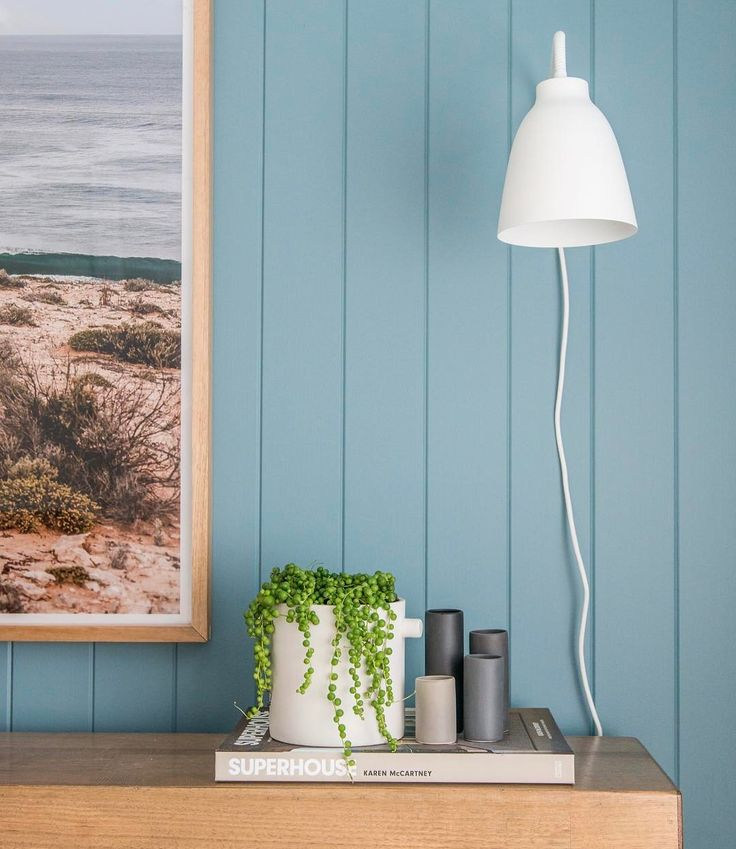 A nice close up of EasyVJ panelling with cool homewares and a great colour