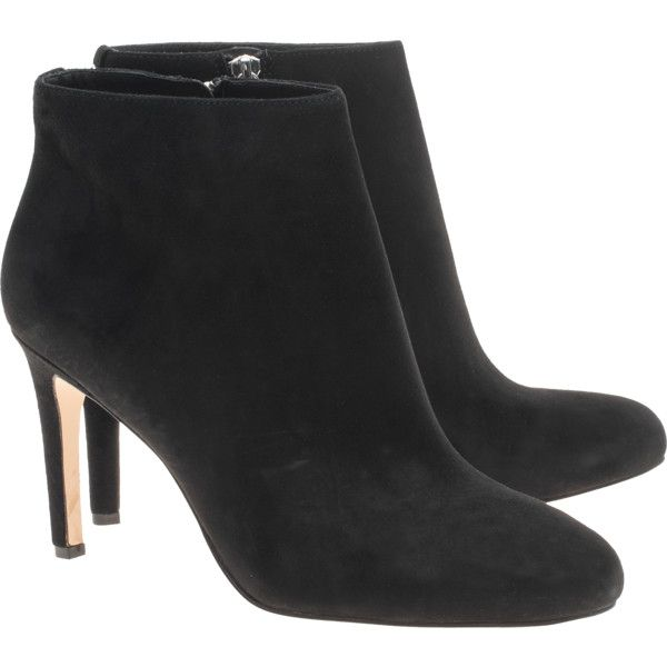 michael kors sammy suede black suede leather ankle