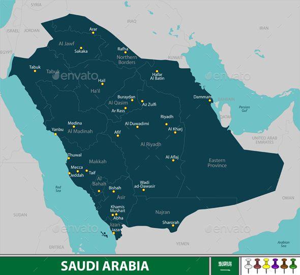 Map Of Saudi Arabia Map Saudi Arabia Andalusian Horse
