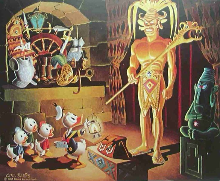 Carl Barks Oil Paintings For Sale