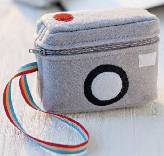 Tasche für Digitalkameras nähen - Schnittmuster und Nähanleitung via Makerist.de