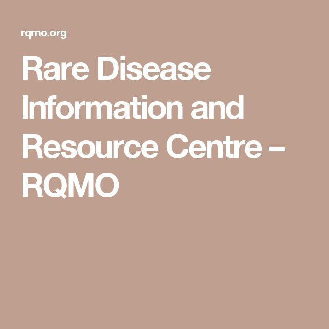 Rare Disease Information and Resource Centre – RQMO