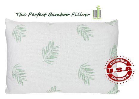 the perfect bamboo pillow stay cool pillowhotel quality fiber crafted in usa down