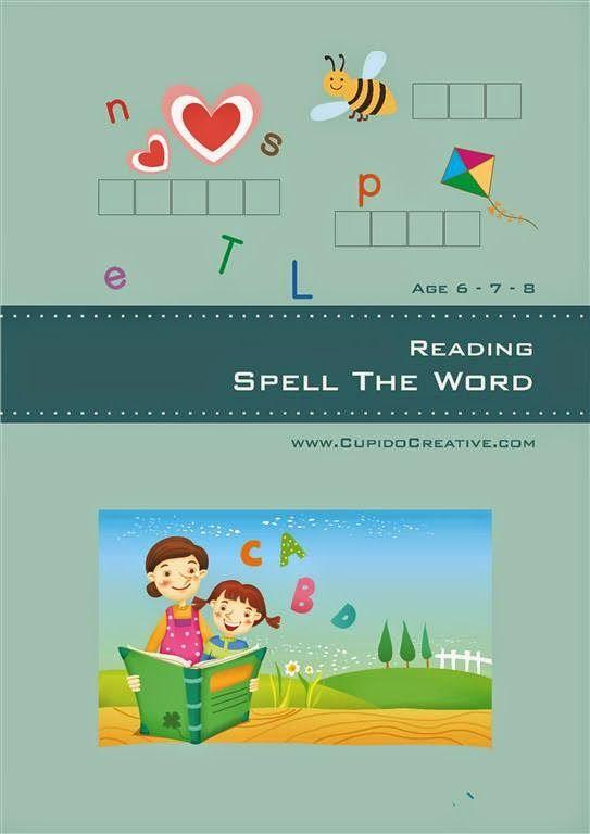 belajar bahasa inggris dasar untuk anak kelas 1 SD, mengeja nama benda dengan bantuan potongan huruf