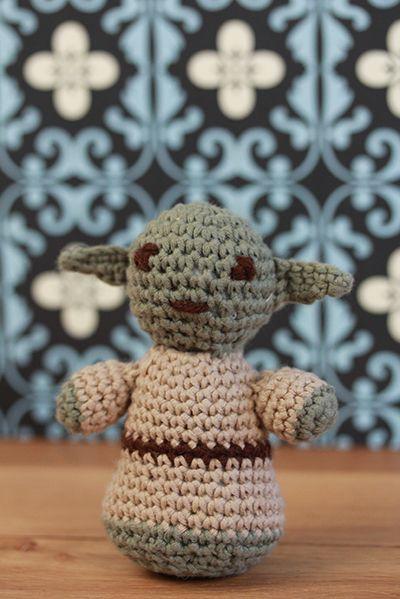 Yoda crochet virkning Star Wars 101ideer.se