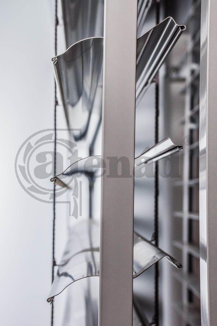 S-lamella - alumínium zsaluzia