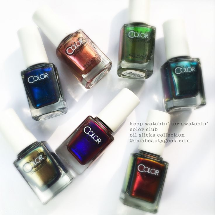 Color Club Oil Slicks Collection Fall 2015. © imabeautygeek.com