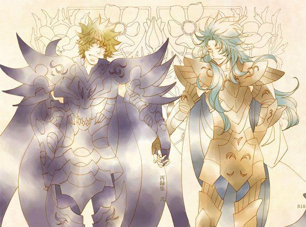 Saint Seiya / Rhadamanthys x Gemini Kanon (再録集 弐) / Tsubaki-rou