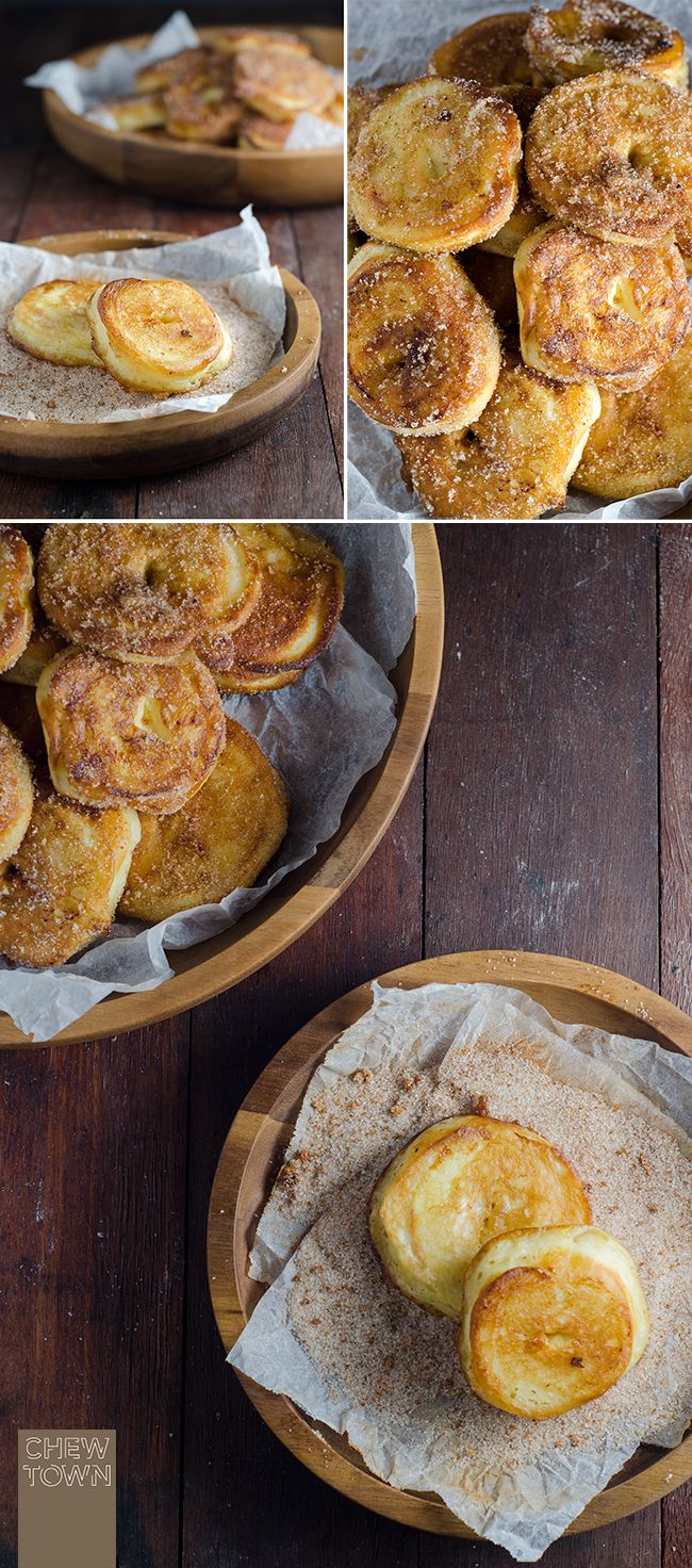 Frittelle di Mele (Apple Fritters) | Chew Town Food Blog