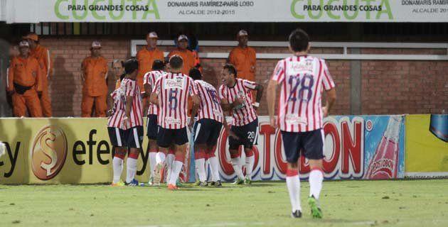 Goleada histórica de Junior ante el Cúcuta Deportivo