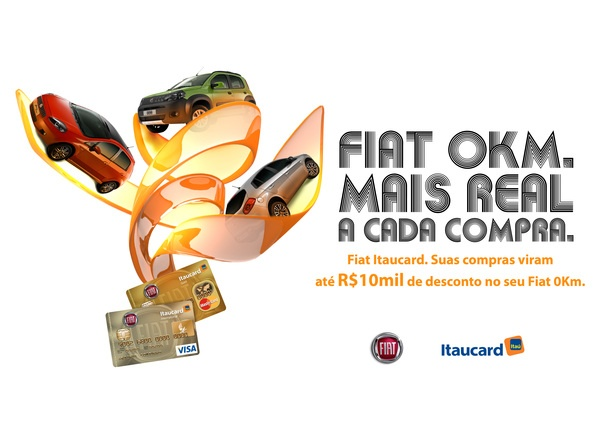 Itaucard Fiat - Proposta by Andre Lopes, via Behance