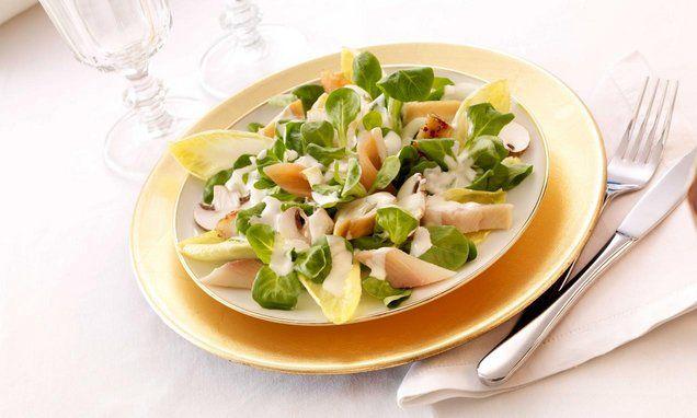 Winterlicher Salat mit Räucherfisch Rezept | Dr. Oetker