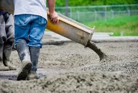 Concrete  Concrete is an artificial stone-like material used for various structural purposes. It is made by mixing a binding material (as cement) and various aggregates (inert materials), such as sand, stone chips, brick chips, brick chips, pebbles, gravel, shale, etc with water