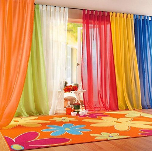 valances colors floral tulle voile door window curtain drape panel sheer in home u0026 garden window treatments u0026 hardware curtains drapes u0026 valances